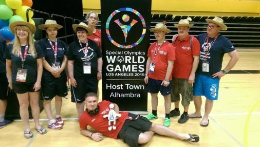 Das Team der Special Olympics Deutschland.