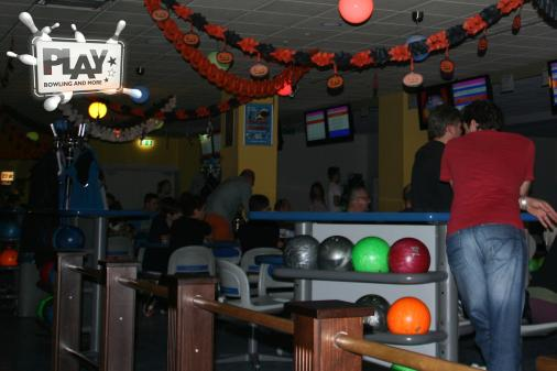 Halloween-Party im PLAY Bowling