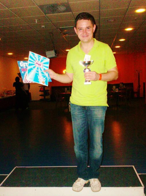 Bester  Spieler: Jens Kirchschläger ebenfalls vom Dresdner Magazin Verlag