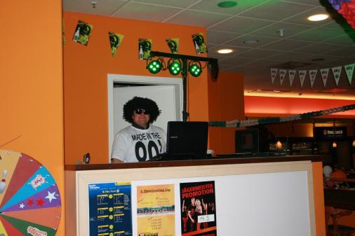 DJ Sippi Heizte die Stimmung ein.