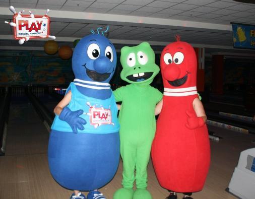 Porti vom Playport war auch da und hatte mit Petra und Peter Pin viel Spaß.