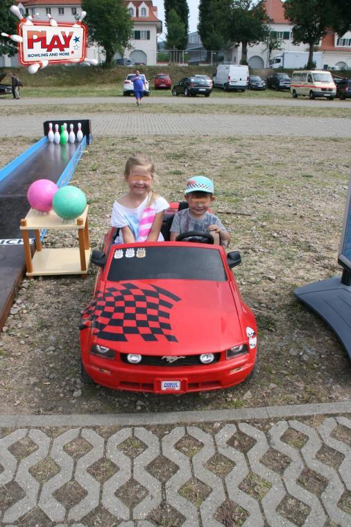 Auch die kleinsten zeigten Ihr Auto.