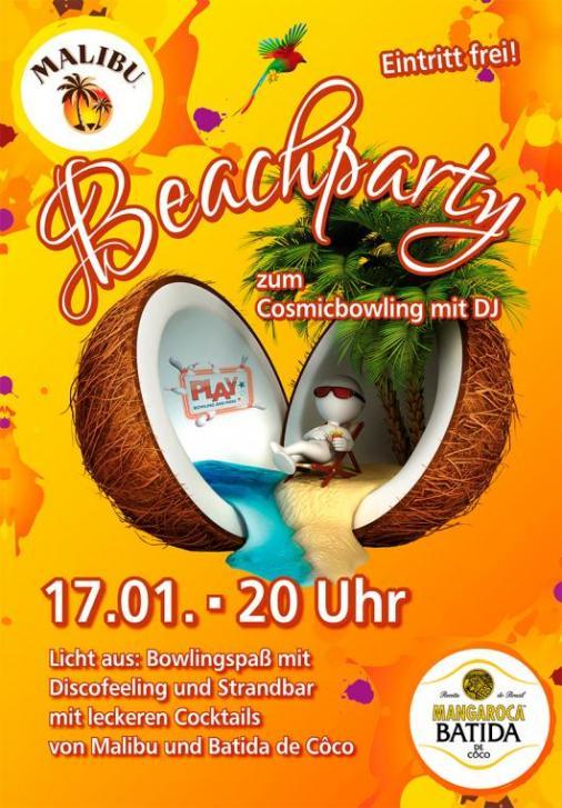 Beachparty 17.1.2015